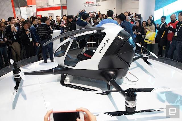 Dron transportar pasajeros