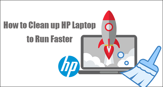 clean up HP laptop to run faster