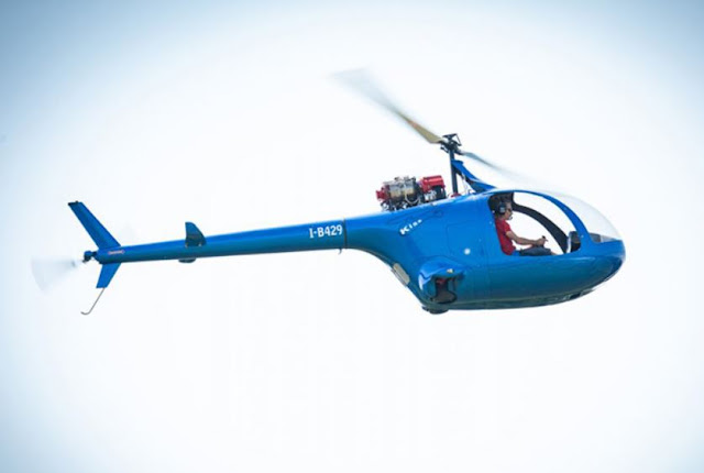 Fama Kiss 216 ultralight helicopter