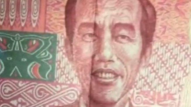 Waspada! Uang Pecahan Rp 100 Bergambar Jokowi Bukan dari Bank Indonesia