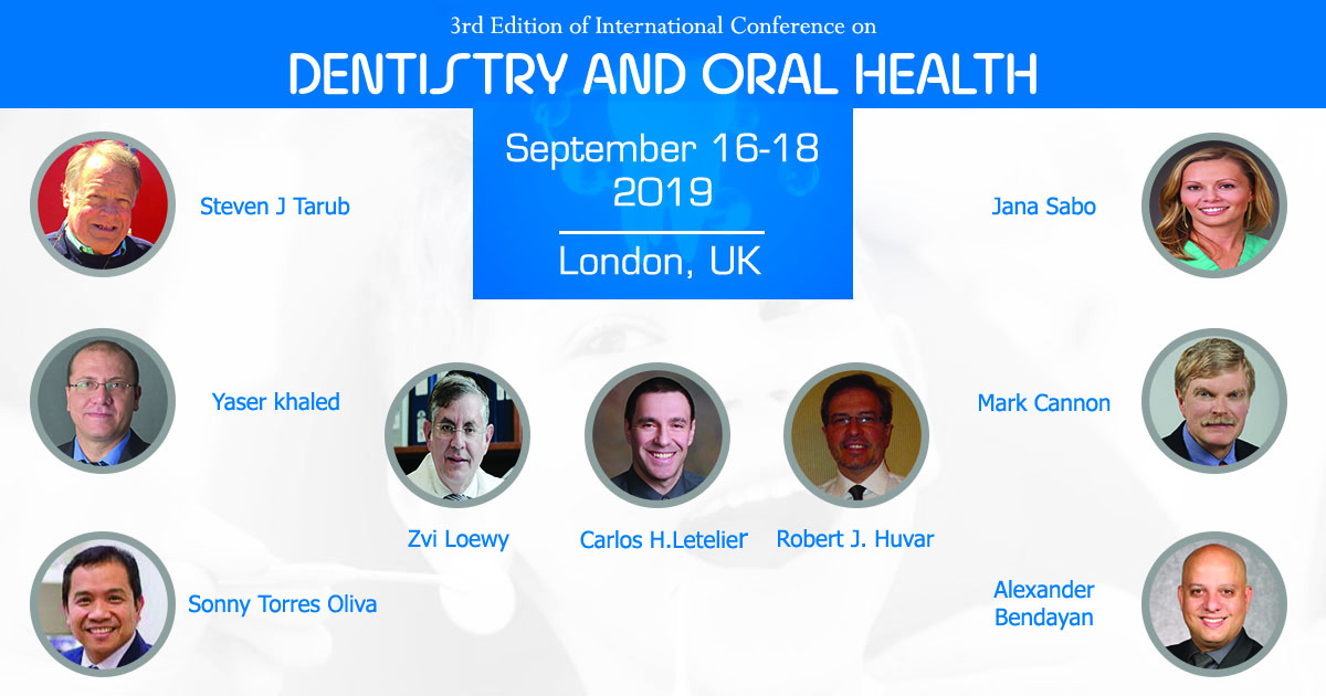 3rd Edition of International Conference on Dentistry and Oral Health
