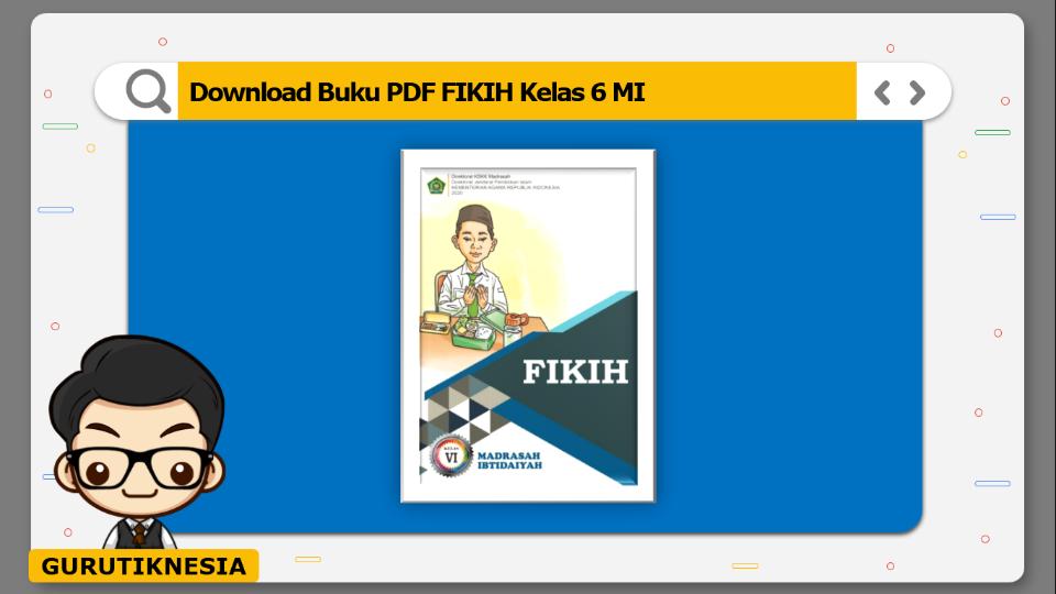 download buku pdf fikih kelas 6 mi