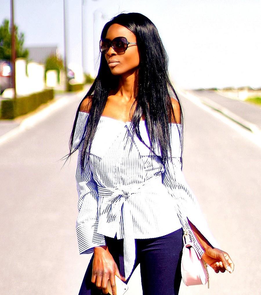 blouse-epaules-denudees-sac-chloe-drew-pas-cher