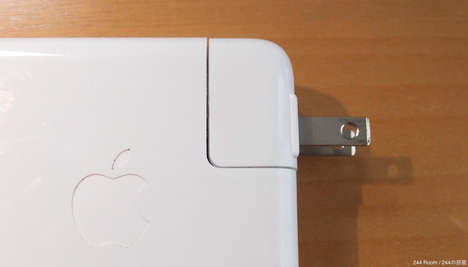 アップルアダプター apple-ac-adapter