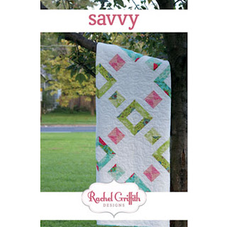 Rachel Griffith Designs SAVVY Quilt Pattern