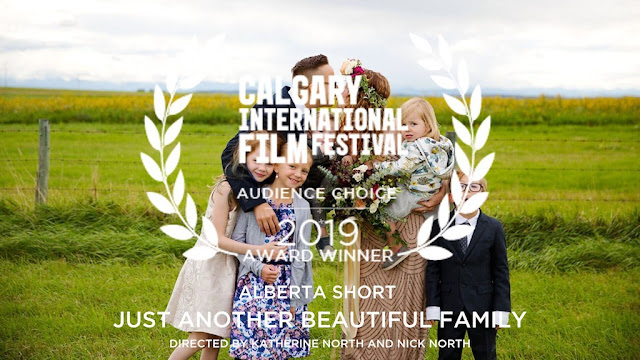 A tender love story about a family with a transgender parent won the Audience Choice Award at Calgary International Film Festival.