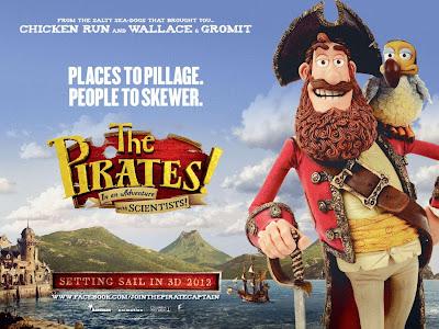 Tráiler de The Pirates! Band of Misfits: Diversión en alta mar