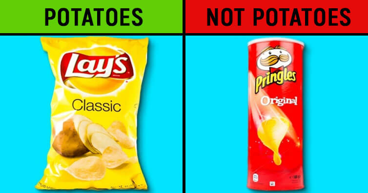5 Differences Between Popular Products We Never Thought Of