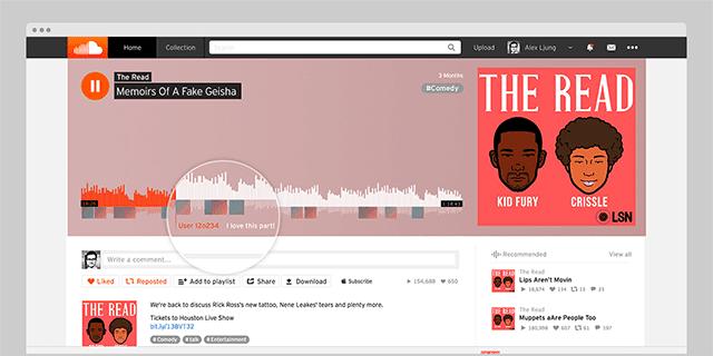 Aplikasi Podcast Soundcloud