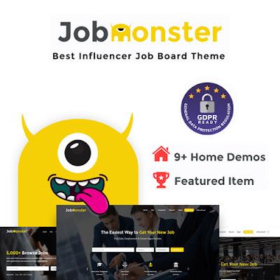 Jobmonster – Job Board WordPress Theme