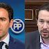 """Iglesias acusa al PP de """"indecencia"""" y """"desvergüenza"""" en la crisis de las residencias"""