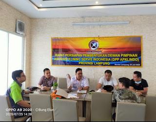 Rapat pembentukan DPP APKLINDO Lampung