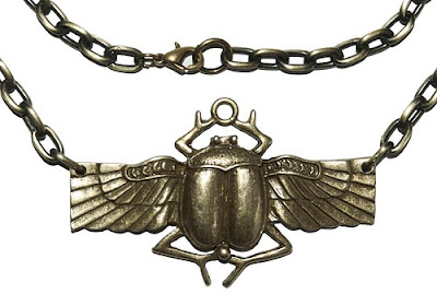 Scarab, amulet of the ancient Egypt