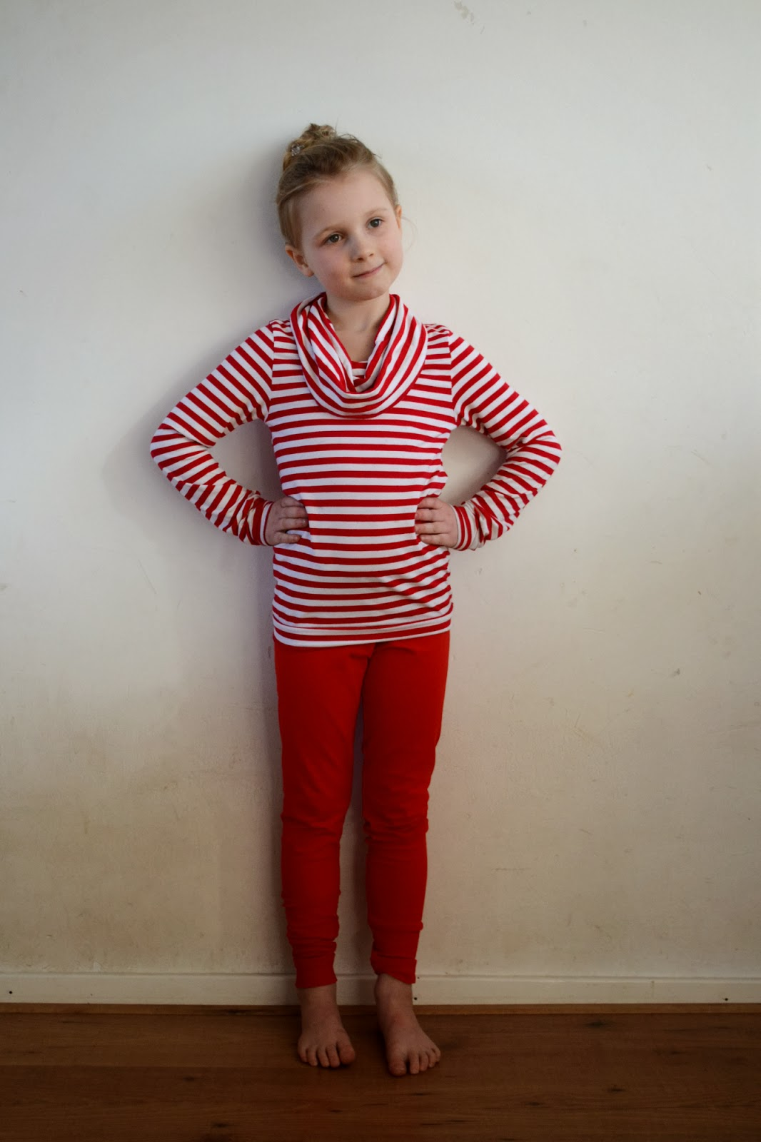 basic legging pattern test