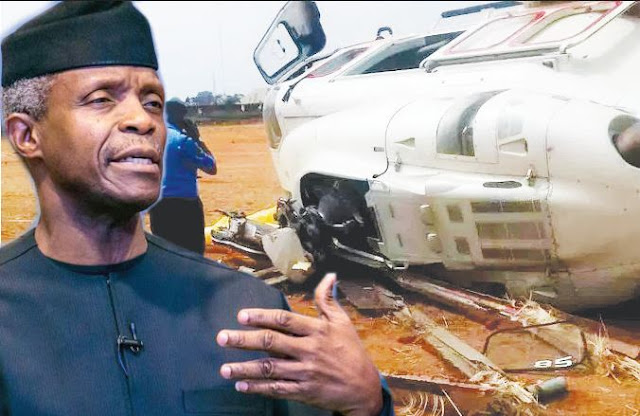 Why Osinbajo's Helicopter Crashed In Kogi - AIB