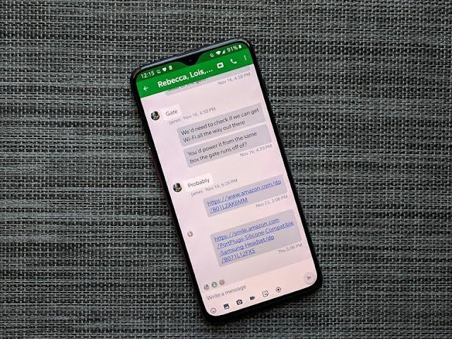 Много улучшений для обмена сообщениями