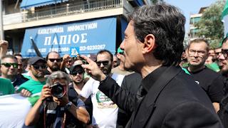 Ανατριχίλα: Απίστευτο περιστατικό με τον Δημήτρη Γιαννακόπουλο στο «αντίο» του Παύλου... ΒΙΝΤΕΟ