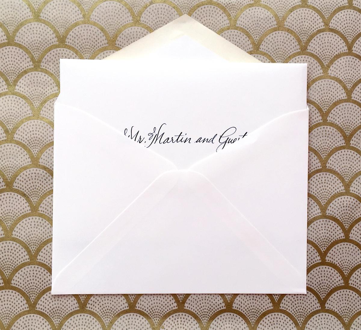 Wedding Invite Protocol: Nico And LaLa: Wedding Invitation Etiquette: Inner And