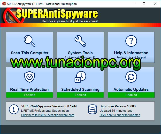 SUPERAntiSpyware Pro Final Protección Contra Malware