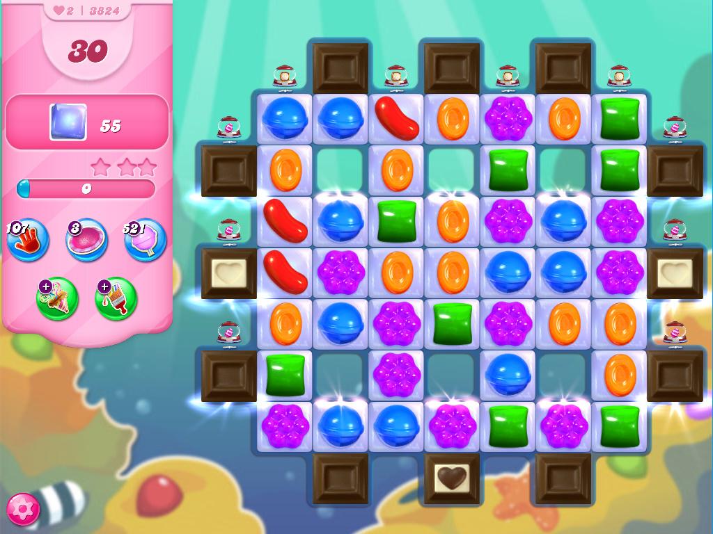 Candy Crush Saga level 3824