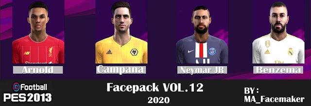 Facepack Vol.12 2020 PES 2013