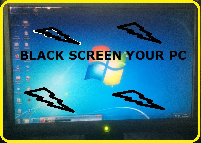 CARA MENGATASI BLACK SCREEN