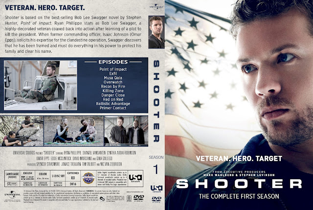 Shooter Season 1 DVD Cover