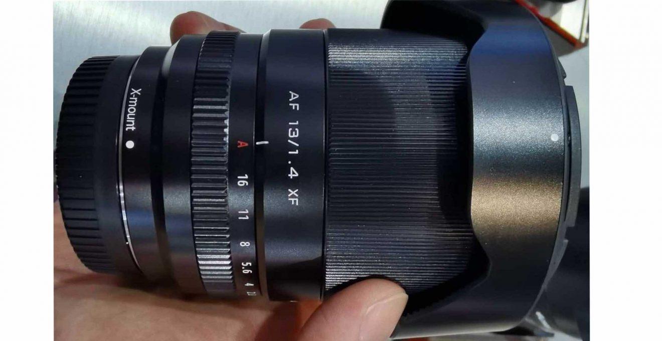 Viltrox AF 13mm f/1.4 XF