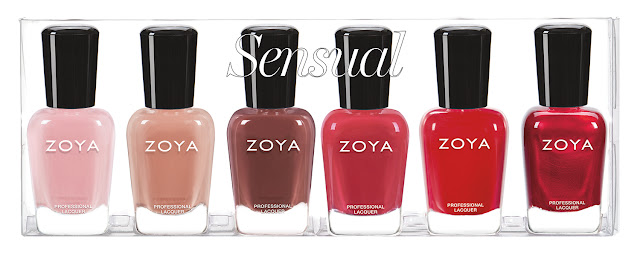 Zoya Fall 2019 Sensual Collection Sampler A