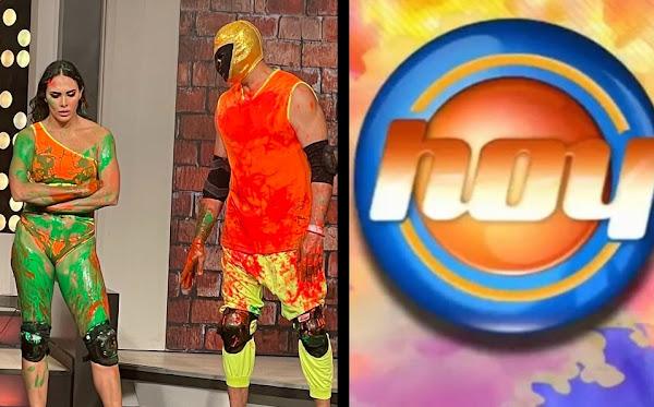 Tinieblas Jr. se disculpa, dice que por la adrenalina nalgueó en vivo a Macky