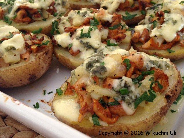 Ziemniaki Faszerowane Kurkami
