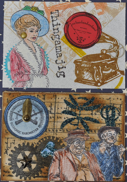 Dreaming Of Castles Steampunk Swap - Rubber Stamp Chat