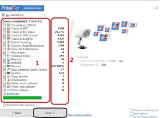 برنامج PrivaZer لتنظيف الحاسوب وتسريعه