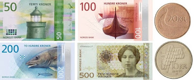 Countries and Currency Norwegian Krone