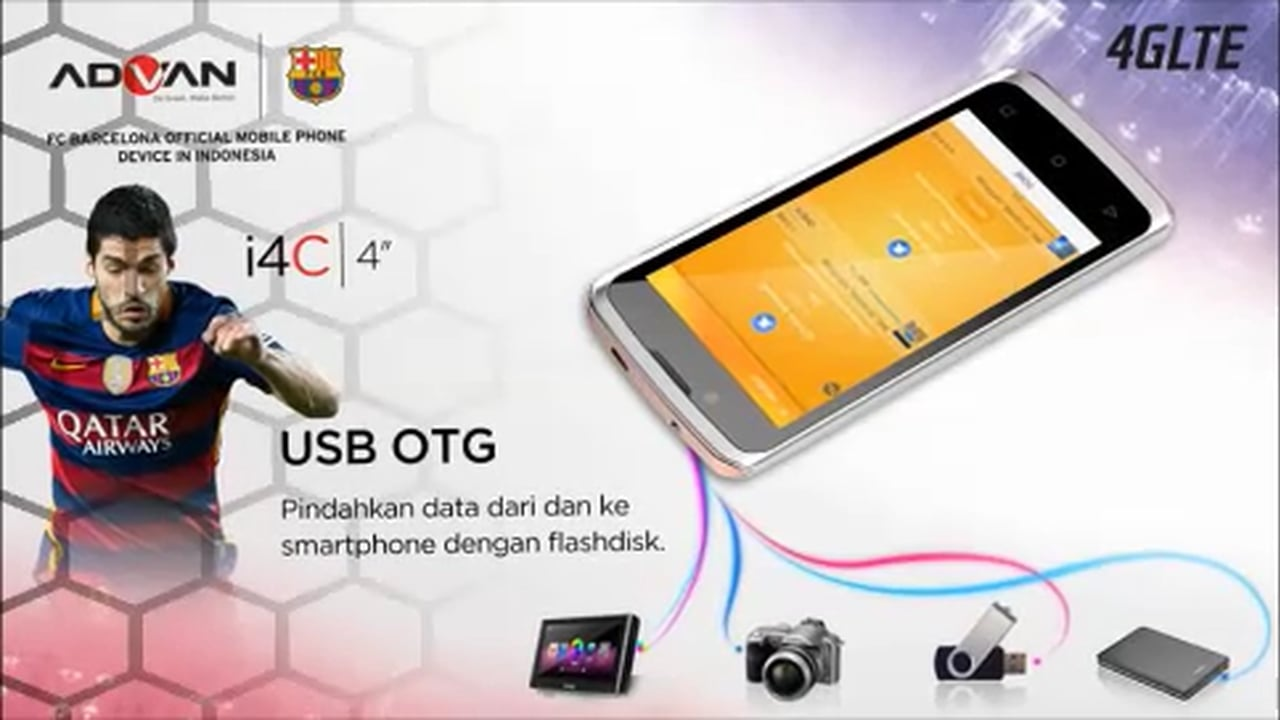 Harga Advan I4c Spesifikasi Lollipop 4g Lte Support Usb Otg
