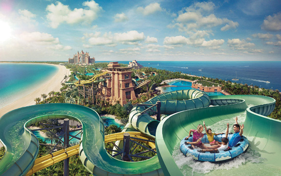 Dubai Atlantis Aquaventure Water Park
