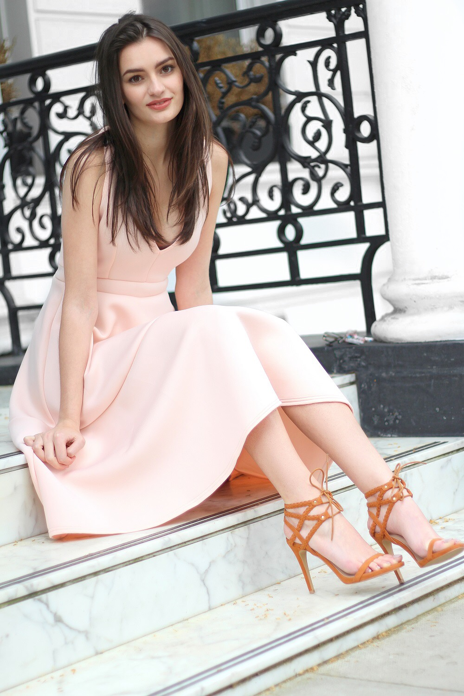 fashion blogger peexo prom dress boohoo