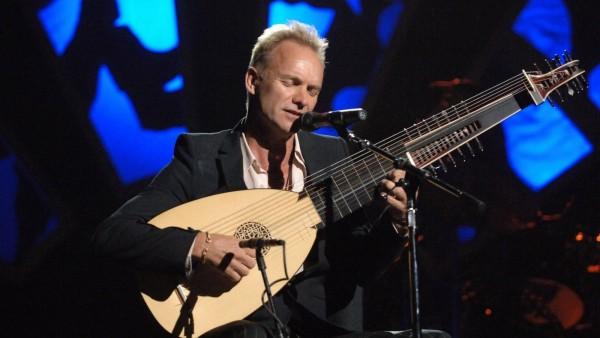 El cantante Sting suspende varios conciertos por motivos de salud