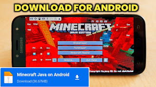 MINECRAFT JAVA EDITION FOR ANDROID LATEST VERSION