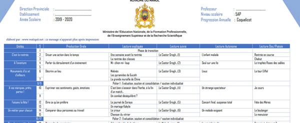 وثائق-الاستاذ-لمرجع---Coquelicot-fiche-et-répartition-annuelle-CM1-et-CM2-CE6