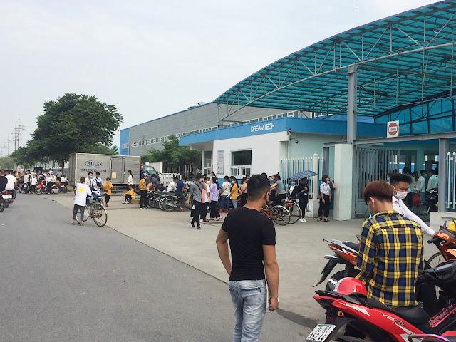 Tuyển công nhân lao động phổ thông làm khu công nghiệp tại Hà Nội Bắc Ninh Thái Nguyên và các tỉnh thành khác