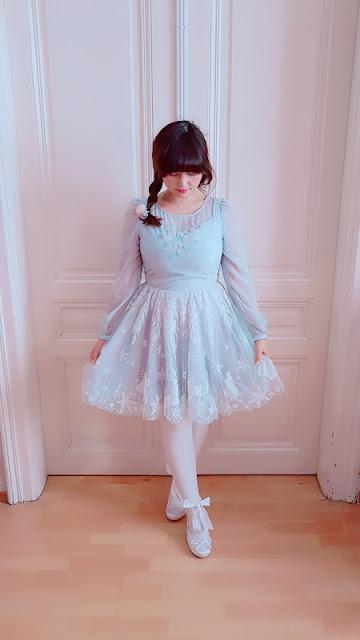 secret honey, kawaii, frozen, pastel blue