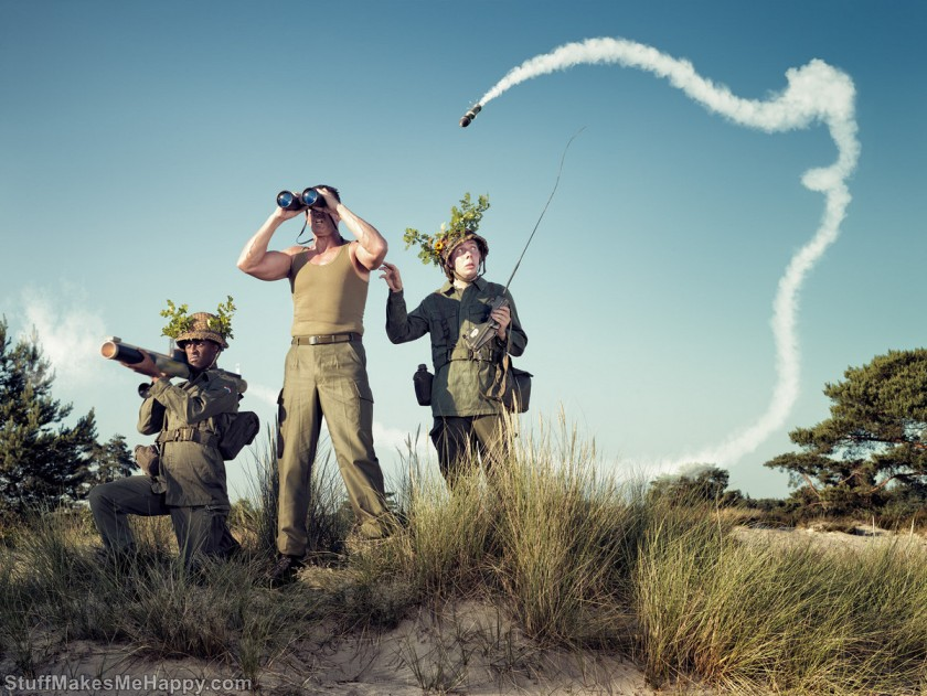Hilarious Photographs by Arthur Mebius (Photo Manipulations Ideas)