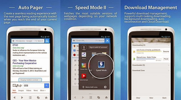 Download UC browser 2014 Updated Versions For All Mobiles