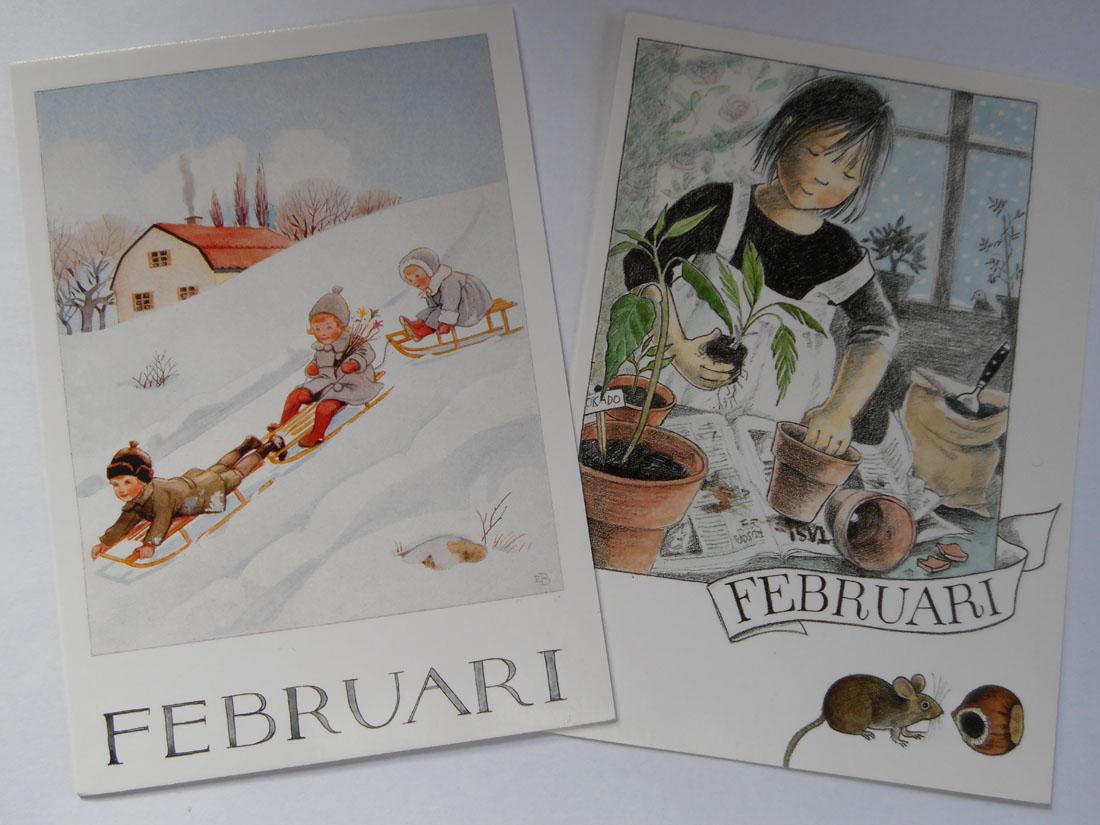 Cartoline di febbraio