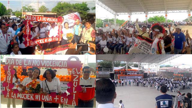 Gob. William Villamizar preside celebración #DíaDeLaNoViolenciaContraLaMujer 2016 en El Zulia #NdeS #Co #OngCF #RSYGob. William Villamizar preside celebración #DíaDeLaNoViolenciaContraLaMujer 2016 en El Zulia #NdeS #Co #OngCF #RSY