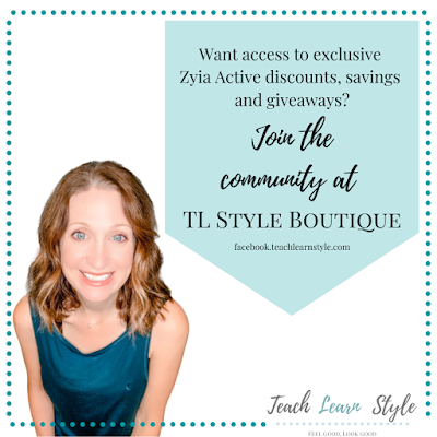Join fun community of women on Facebook who like to talk fashion, life and have a laugh.  Also get exclusive Zyia Active discounts and giveaways.