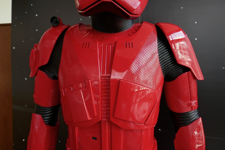 Sith Trooper armour Star Wars Rise of Skywalker