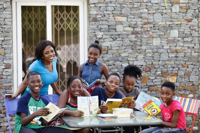 Nana Aba Anamoah partners Tigo Shelter for Education to inspire children to read