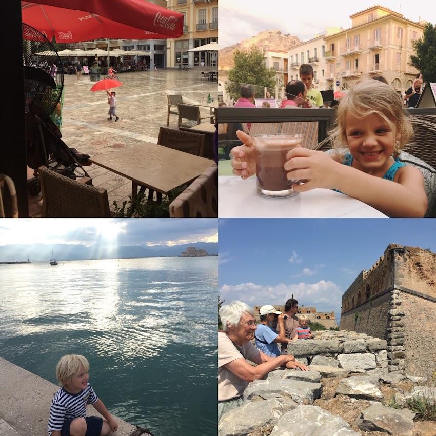 Greece Trip Part 3: Nafplio with Kids